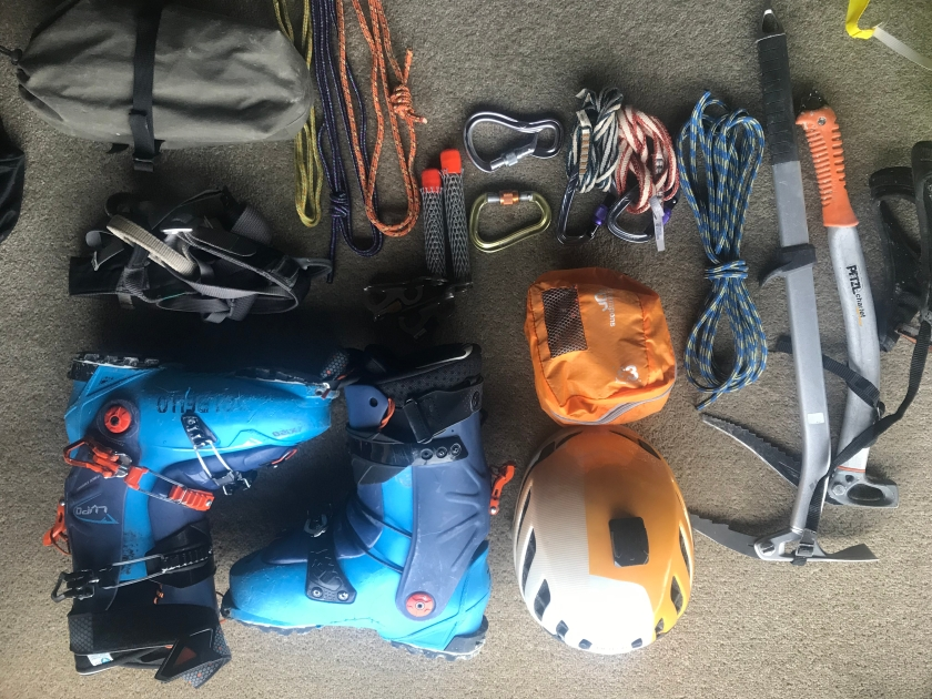 Gear first Tas ski trip